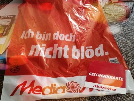 Mediamarkt-Tüte - Ich bin doch nicht blöd