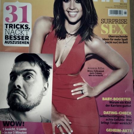 Cosmopolitan Mai 2016 mit Dampfbloque auf Cover