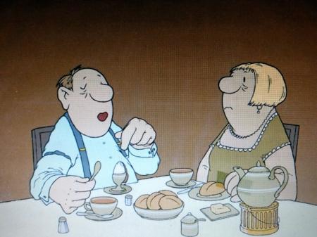 loriot das frühstücksei dampfbloque